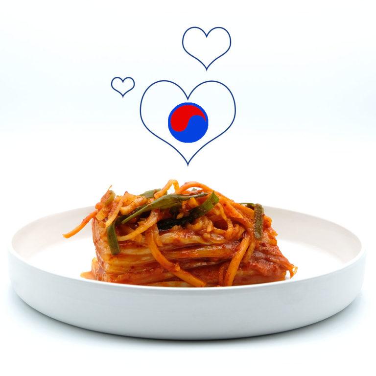 Beitragsbild zum Rezept Kimchi aus Chinakohl - Baechu Kimchi Popfood