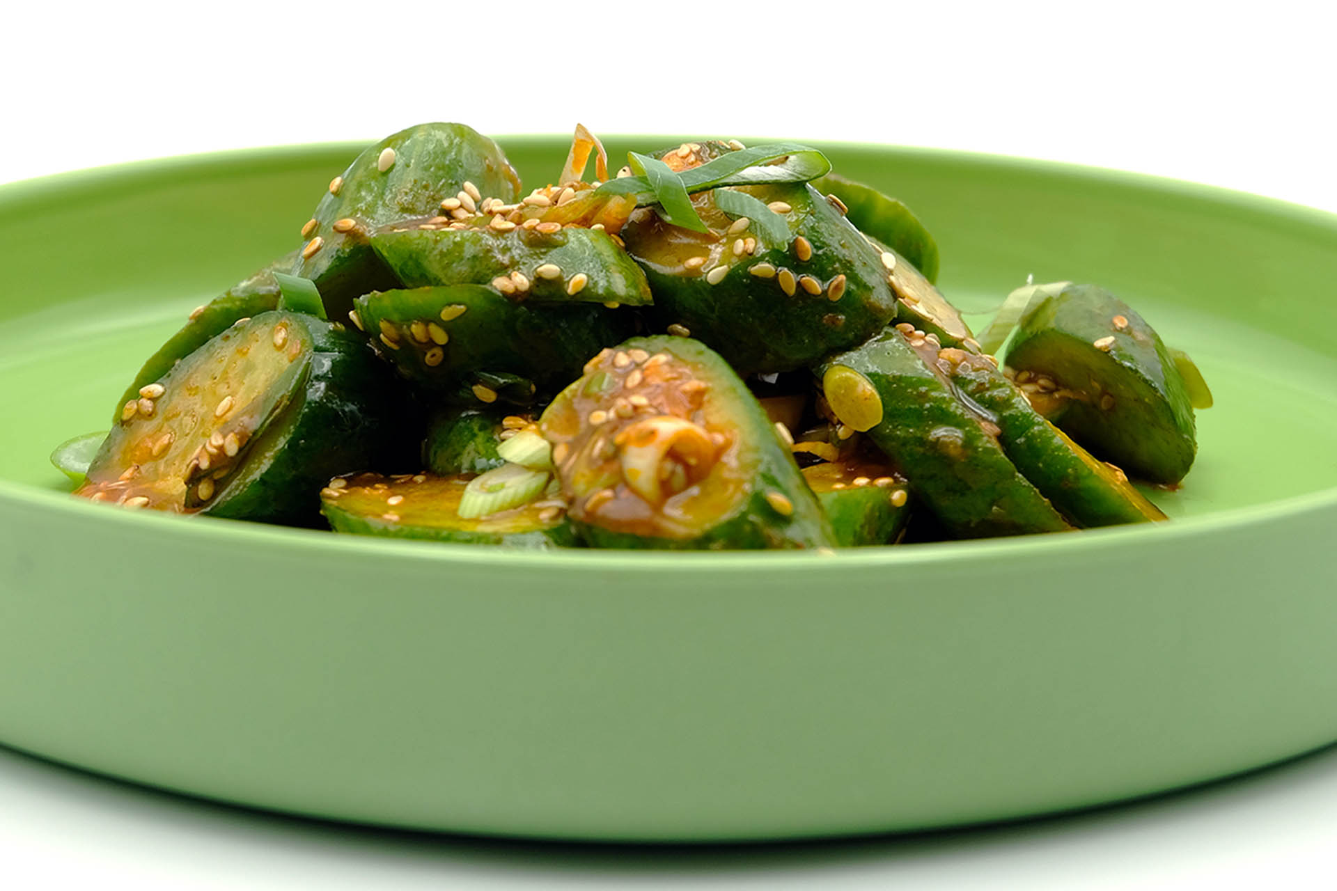 Rezept koreanischer Gurkensalat Popfood
